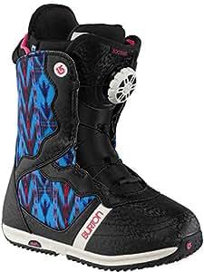 Burton Snowboard Guantes Snowboard Boots bootique, color Impresión Negro, tamaño 10.0