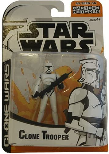 Amazon Com Star Wars Animated Clone Wars Clone Trooper Action