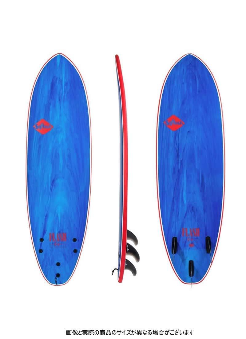 Softech(ソフテック)Flash Eric Geiselman モデル サーフボード [BLUE MARBLE] 6'6