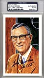 John Wooden Autographed HOF Postcard UCLA Bruins PSA/DNA #83963457