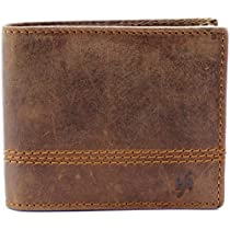 StarHide RFID Blocking Wallet Mens Designed ForID, Credit Cards, Cash - 1150