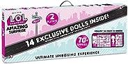 L.O.L. Surprise Amazing Surprise with 14 Dolls, 70+ Surprises & 2 Pla