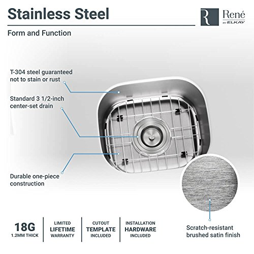 Review R1-1012-18 Stainless Steel Bar