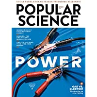 1-Year (6 Issues) of Popular Science Magazine Subscription