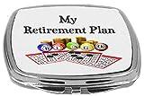 Rikki Knight My Retirement Plan is Bingo Compact Mirror