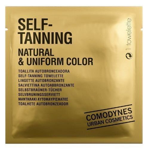 Comodynes - Self Tanning Natural & Uniform Color - La toallita autobronceadora que proporciona un moreno inatural y uniforme - 2 Packs de 8 toallitas ...