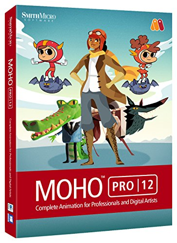 Smith Micro Software Moho Pro 12 2D Animation Software by Smith Micro Software Inc.
