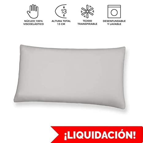 Komfortland Almohada 150 cm viscoelástica Visco One