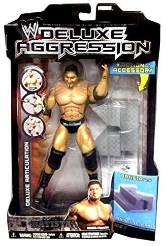 Jakks Pacific WWE Wrestling Deluxe Aggression Series 12 Batista Action Figure ()