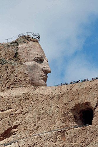 The Crazy Horse Monument in the Black Hills of South Dakota Journal: 150 page lined notebook/diary