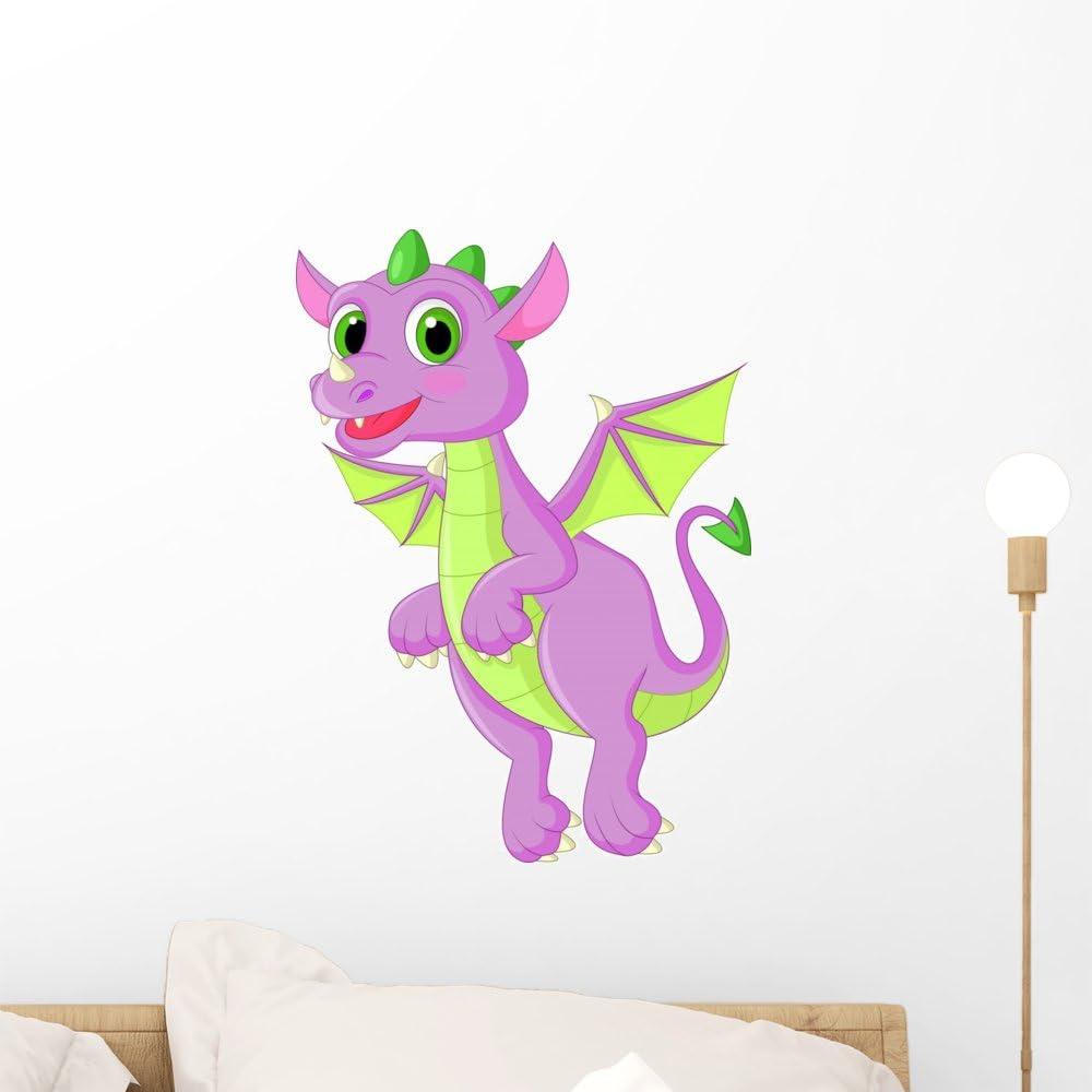 Flying Dragon 3D Wall Sticker Decal Wallpaper Room Decor Modern Wall Art