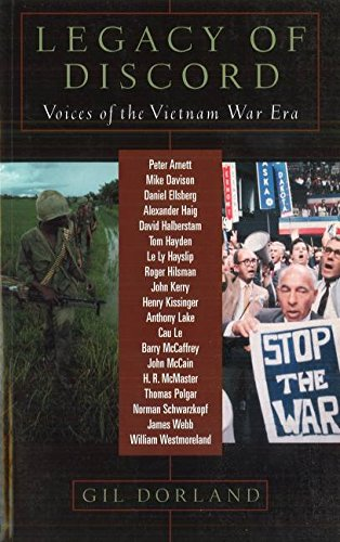 Download Legacy of Discord: Voices of the Vietnam Era ebook