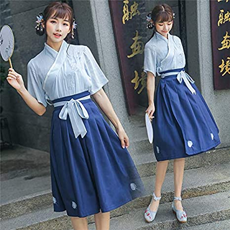 Disfraz chino mejorado para mujer china vestido de verano chica ...