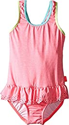 Seafolly Kids Girl\'s Jewel Cove Action Back Tank Top (Toddler/Little Kids) Pink Soda Swimsuit 3 (Toddler)