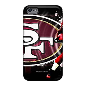 Great Cell-phone Hard Covers For Apple Iphone 6 With Custom Attractive San Francisco 49ers Series RobAmarook
