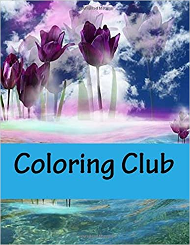 Coloring Club Book For Adult Relaxation