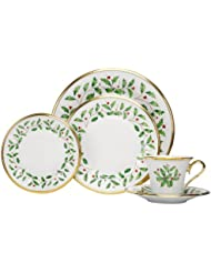 Тарелка Lenox Holiday 5-Piece Place Setting,Ivory
