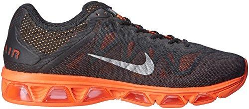 Nike Air Max Tailwind 7 - Zapatillas de running Hombre Negro / Plateado / Naranja (Blk / Mtllc Slvr-Hypr Crmsn-Tm R)