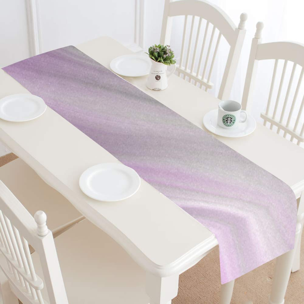 Jnseff Wave Form Texture Pattern Color Table Runner, Kitchen Dining Table Runner 16 X 72 Inch For Dinner Parties, Events, Decor by Jnseff (Image #2)