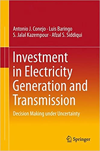 Investment in Electricity Generation and Transmission: Decision Making under Uncertainty