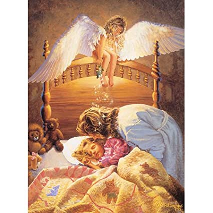 Kissing Angel Jigsaw Puzzle 500pc Prism