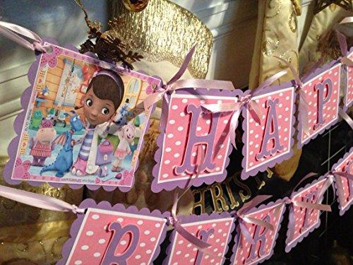 Doc McStuffins BIRTHDAY Banner -