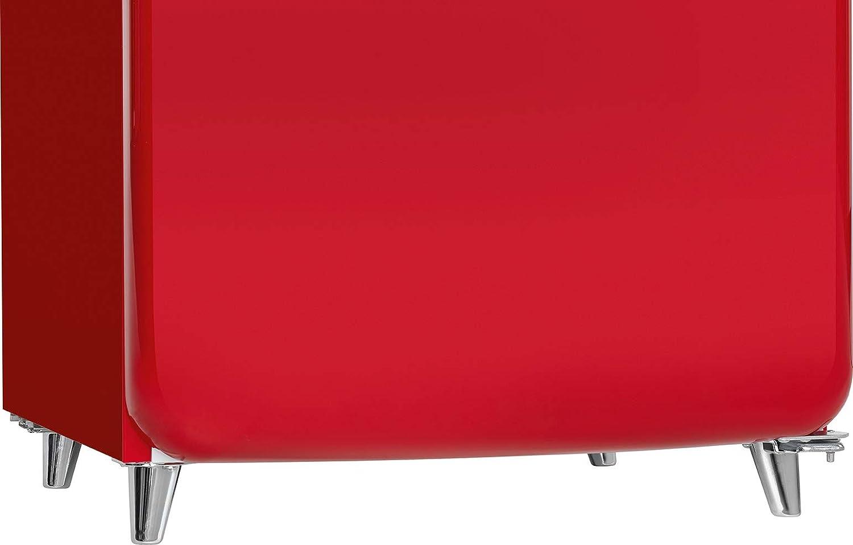 Retro Kühlschrank Bohmann : Bomann ksr kühlschrank a retro design kühlen l