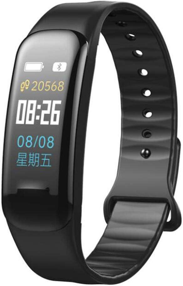 FXAOYWT Reloj Deportivo Fitness Tracker Pantalla de Color Reloj Inteligente frecuencia cardíaca Actividad rastreador de presión Arterial Calorie nómetro sueño Monitor recordatorio de Llamada
