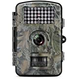 Trail Game Camera MAXFUL Wildlife Hunting Camera 1080P 12MP HD with Infrared Night Vision,42pcs 940nm IR LEDs,2.4inch LCD Screen,IP54 Waterproof