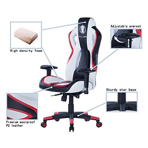 killbee large gaming chair ergonomic computer chair swivel executive
