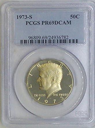 1996-S Silver Kennedy Half PR69DCAM PCGS Proof 69 Deep Cameo