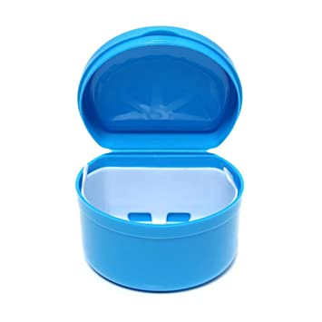 Amazon com: Xiton 1PC False Tooth Retainer Case Teeth Holder
