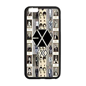 Custom EXO Logo and Collage Pattern Phone Case Laser Technology for iphone 4 4s Designed by HnW Accessories