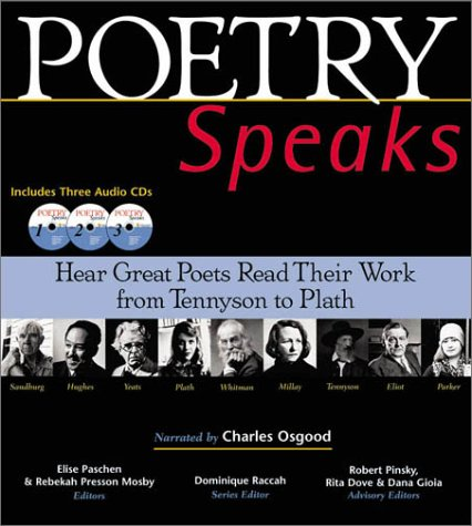 Poetry Speaks: Hear Great Poets Read Their Work from Tennyson to Plath (Book and 3 Audio CDs) by Brand: Sourcebooks MediaFusion
