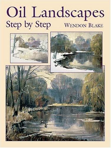Oil Landscapes Step by Step (Dover Art Instruction)