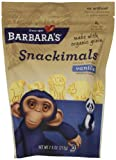 Barbara's Bakery, Vanilla Snackimals Animal Cookies, 7.5 oz