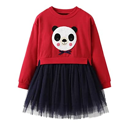 c12d152a52b0c succeedtop Clothes for Toddler Kids Baby Girl Cartoon Panda Princess ...