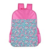 Unicorn Children's School Bag Bagpack Cabssk Polyurethane Leather Customize Pink Practical