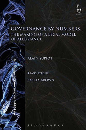 governance by numbers the making of a legal model of 読書メーター