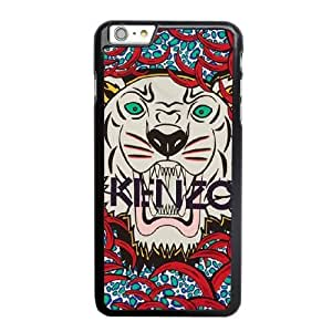 Wunatin Hard Case ,iPhone 6 6S 4.7 inch Cell Phone Case Black KENZO Tiger [with Free Tempered Glass Screen Protector]5691265303484