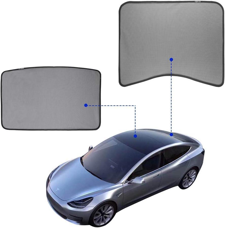 Modell 3 Sonnenschutz Für Tesla Modell 3 2 Stück Oberes Dach Hinten Auto
