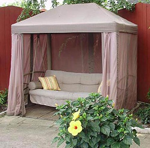 (Jur_Global Replacement Canopy Top for Sam's Club Gazebo Style Swing)