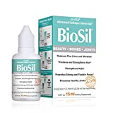 BioSil by Natural Factors, Beauty, Bones, Joints Liquid, Supports Healthy Hair, Skin and Nails, Vegan Collagen, Elastin and Keratin Generator, 0.5 fl oz (60 Servings)