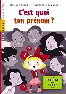 """Afficher """"Histoires à la carte<br /> C'est quoi ton prénom ?"""""""