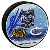 Alexander Khokhlachev Boston Bruins Signed Autographed 2016 Winter Classic Puck