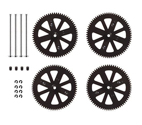 drone repair parts - HONBAY Parrot AR Drone 2.0 Pinion and Spur Gears Upgraded Design and Material Orange Parrot AR Drone 1.0 & 2.0 Repair Gears Replacement Pinion and spur Spare Parts