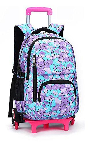 Meetbelify Kids Rolling Backpacks Luggage Six Wheels Unisex Trolley School  Bags 1ef3c2c57b9cb