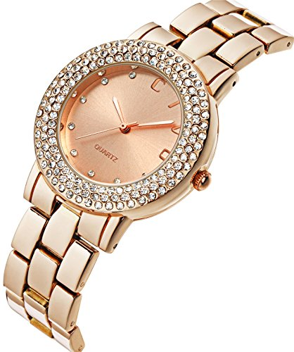 CIVO Women's Rose Golden Stainless Steel - Bracelet Ladies Wrist Watch Shopping Results