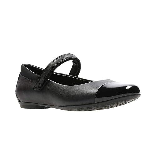 free shipping new styles detailing Clarks Tizz Talk Girls Senior Mary Jane School Shoes 4.5 E UK ...