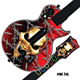Mightyskins Protective Skin Decal Cover Sticker for GUITAR HERO 3 III PS3 Xbox 360 Les Paul - Pure Evil